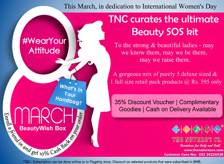 "The Nature's Co. ""Women's Day"" Special BeautyWish Box - Wear Your Attitude"
