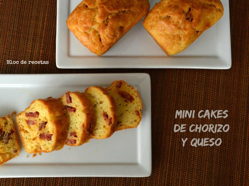 Mini Cake Chorizo Tomates S Ef Bf Bdch Ef Bf Bdes