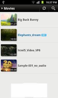 صور مشغل الفيديو MX Player