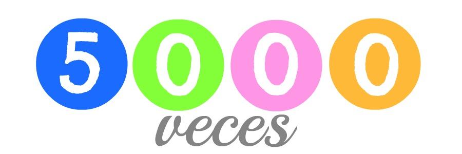 5.000 veces