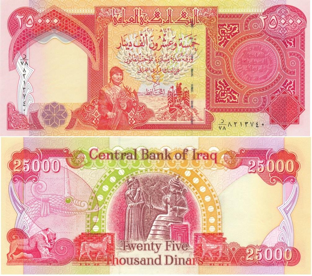 Dinar Iraq