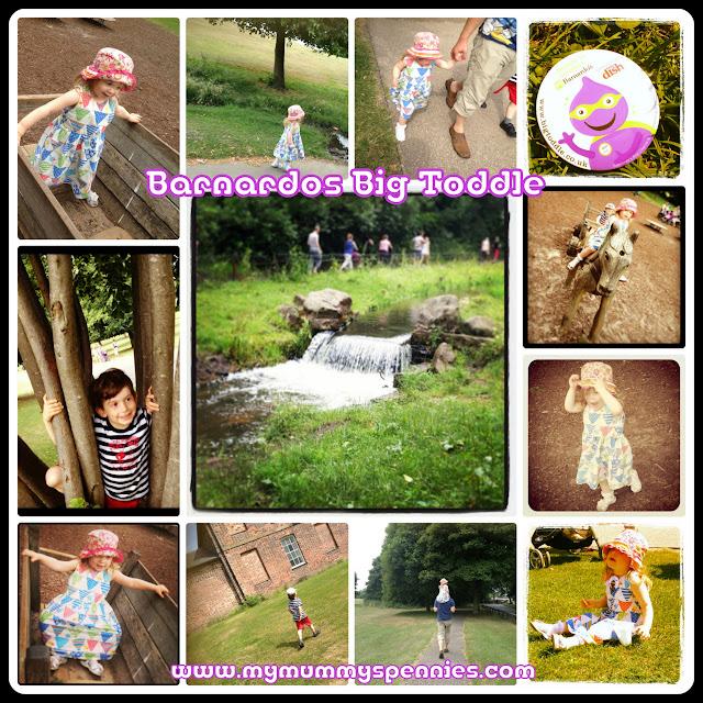 Barnardos big toddle Heaton Park 2013