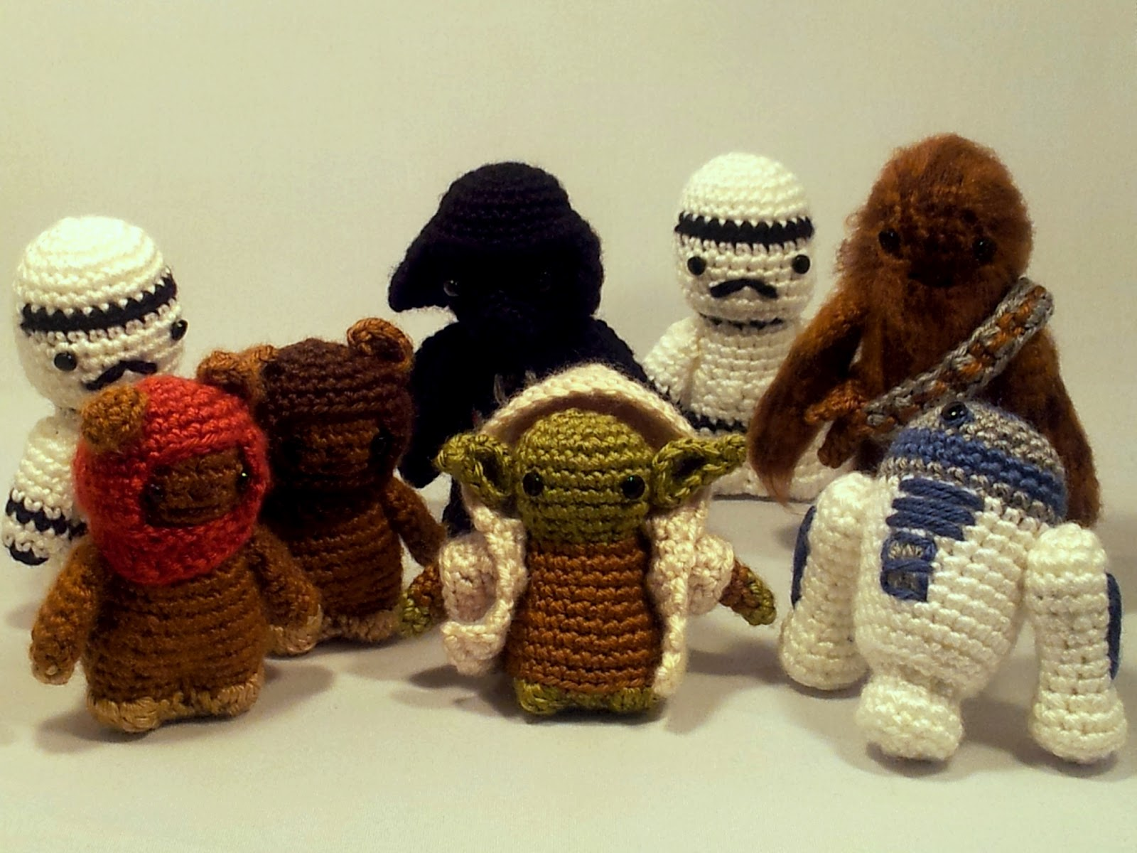 Amigurumi Star Wars Patterns : Yarrhooked!: star wars amigurumi!