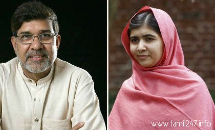 Malala Yousafzai and Kailash Satyarthi win Nobel Peace prize for 2014
