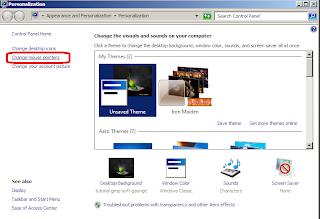 Cara mengatasi cursor mouse yang seperti loading terus di windows7
