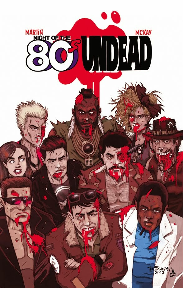 OUT NOW: Night of the 80's Undead VOL.1 TPB
