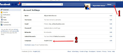 Cara nak tukar layout baru Facebook kepada yang lama / asal