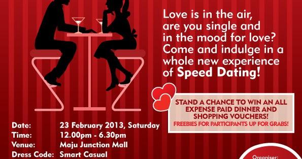 Speed dating mall ruse