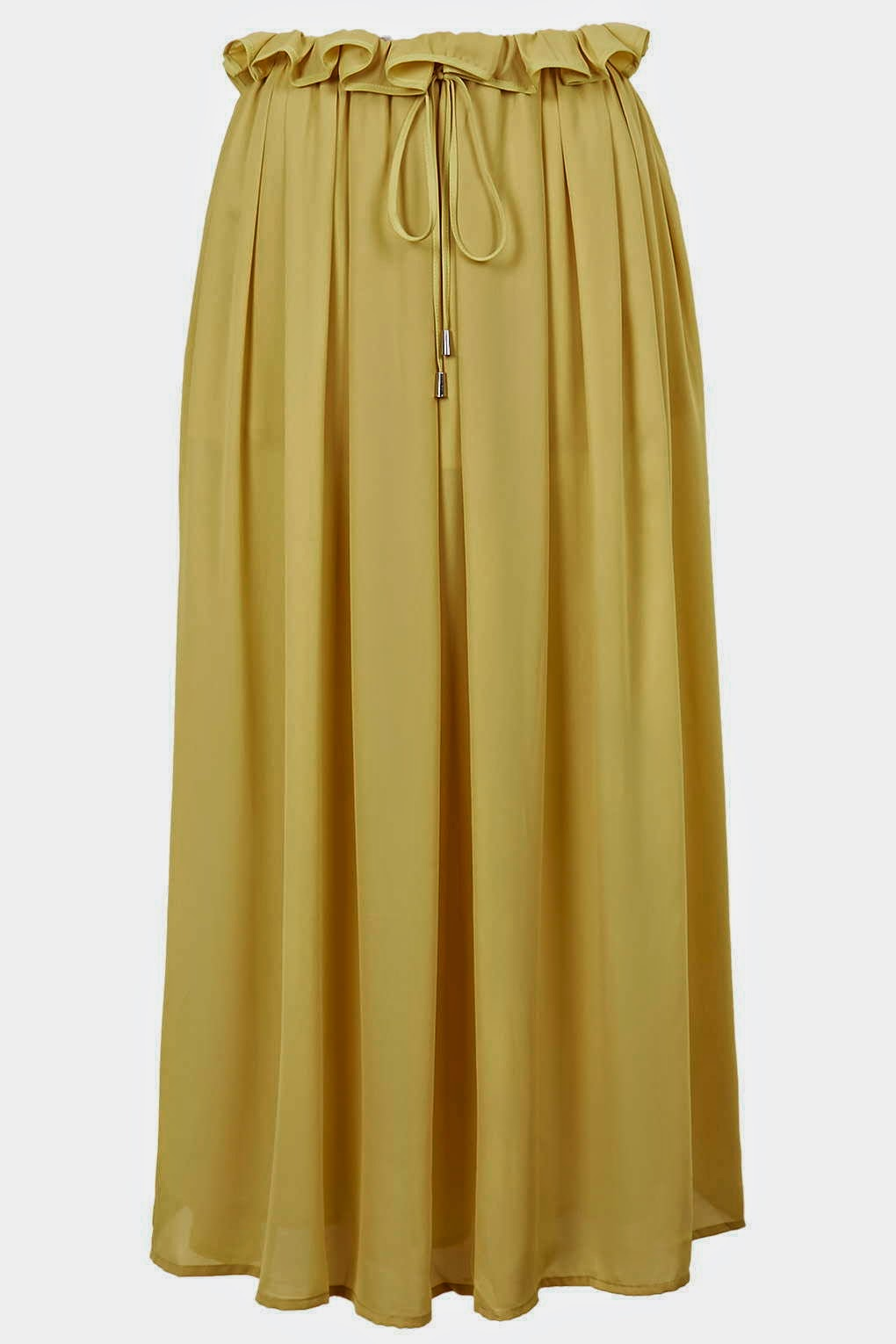 yellow skirt jovonna,