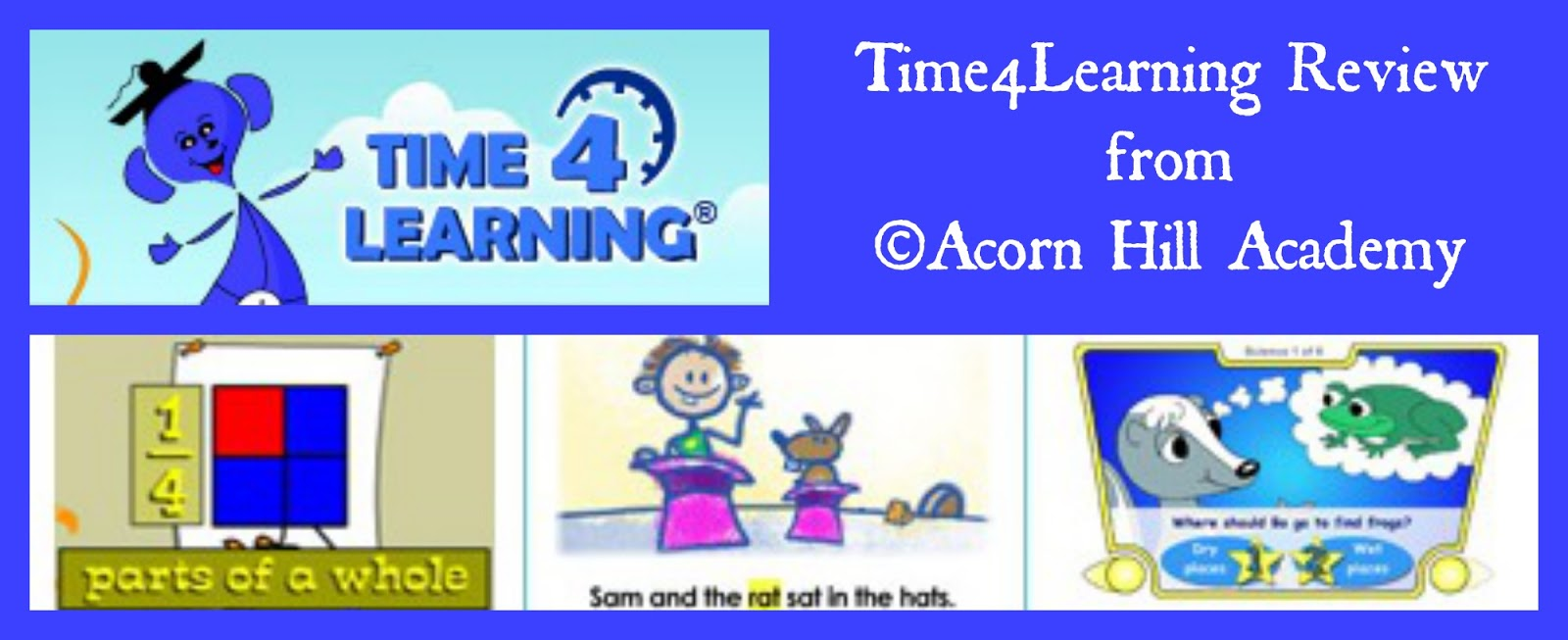 Acorn Hill Academy: REVIEW: Time4Learning.com Time4learning