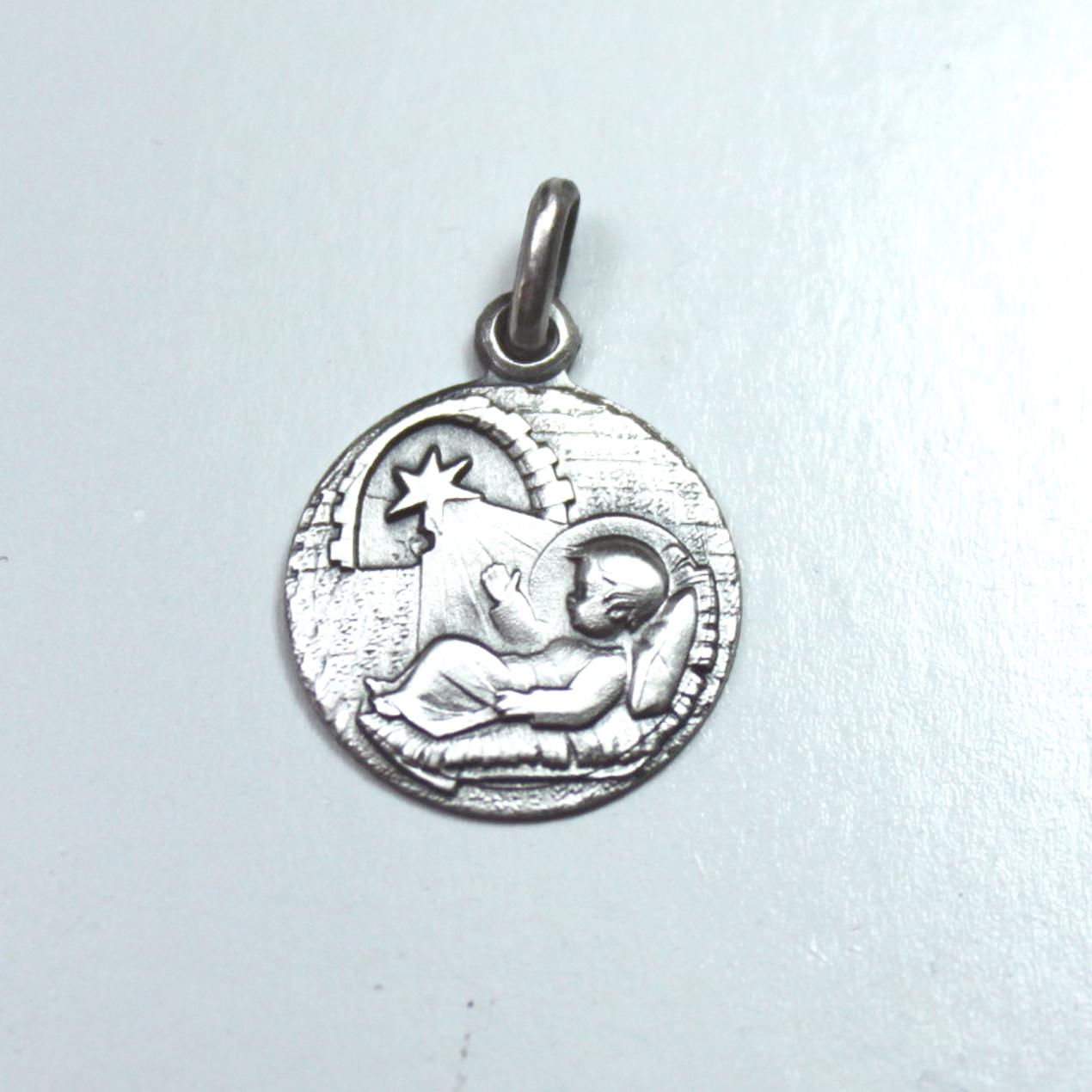 Medallas religiosas plata