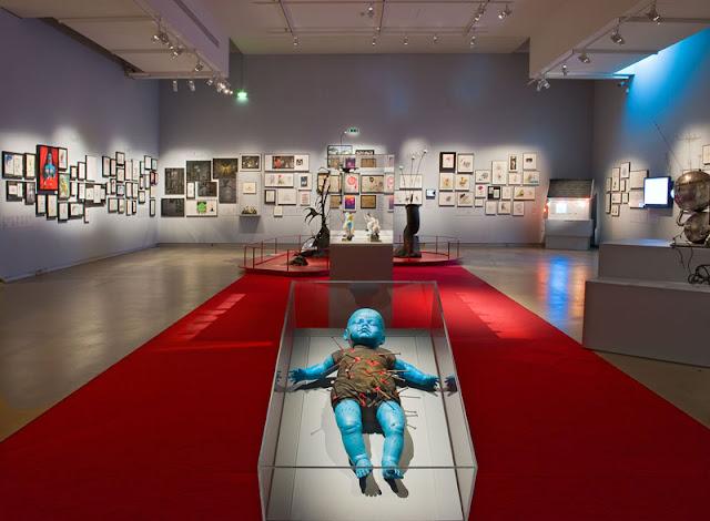 Tim Burton, L'Exposition à La Cinémathèque française © Stéphane Dabrowski / La Cinémathèque française.