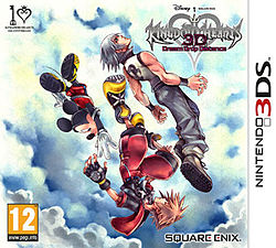 Kingdom Hearts 3D: Dream Drop Distance USA 3DS GAME [.3DS]