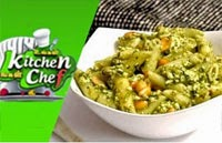 Penne Spanish Mint Pasta – Ungal Kitchen Engal Chef
