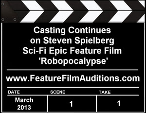 Auditions Casting Robopocalypse
