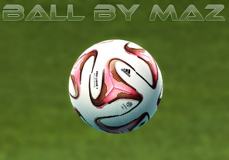 PES 2013 Adidas Pro League 1 Ball 2014-15 by MAZ