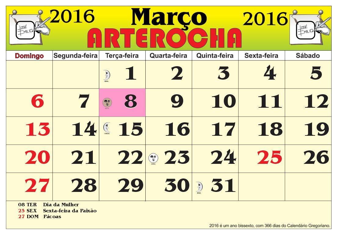 2016 com as fases da lua e feriados nacional 2016 é um ano bissexto ...