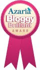 Azaria Bloggy Brilliant Award