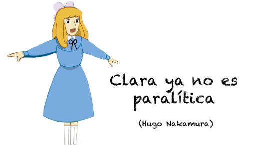 clara ya no es paralítica