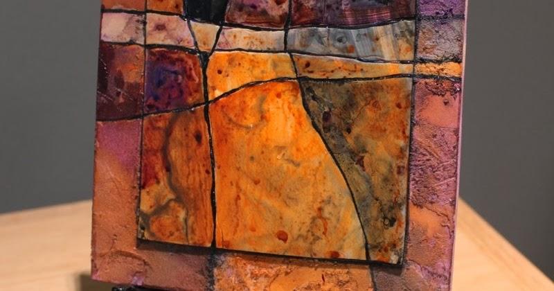 CAROL NELSON FINE ART BLOG Gemstone 19 Mixed Media