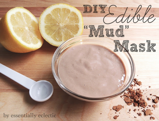 "DIY Edible ""Mud"" Mask from Essentially Eclectic"