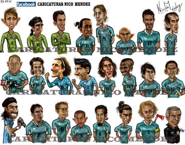 SELECCI  N URUGUAYA 2010    2012