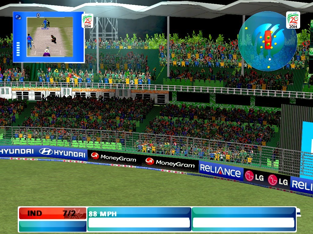 MI Studios ICC T20 World Cup 2014 Patch for EA Cricket 07