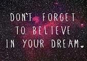 'Mis sueños solo se basan