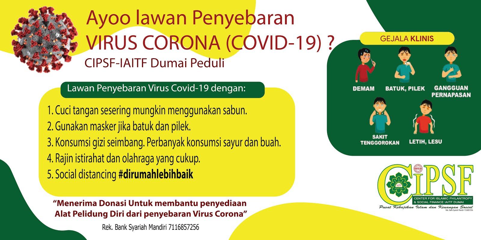 Ayo Lawan Penyebaran Covid-19