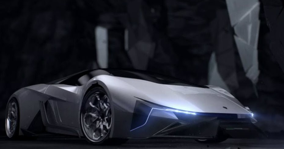 Lamborghini Diamante Concept Cg Daily News
