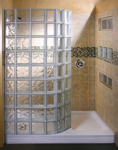 Elegant You Have The Choice Of Clear Or Wave Glass Block Patterns And Acrylic Or  Ready 4 Tile Shower Pan Materials.