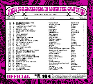 KHJ Boss 30 No. 104 - June 28, 1967