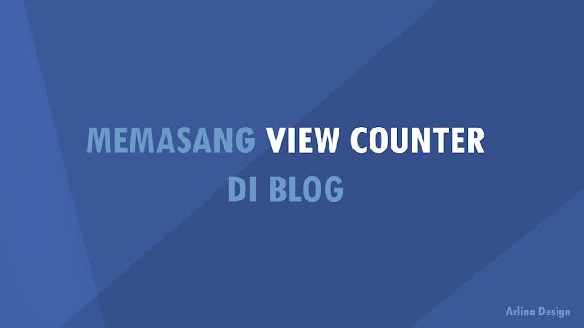 Memasang View Counter dengan Firebase