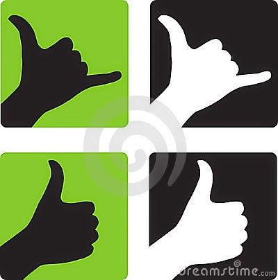 Hawaiian Hand Sign