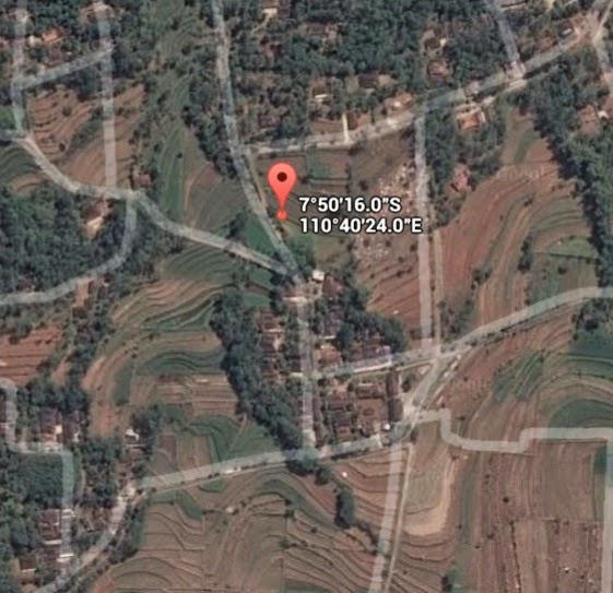 Koordinat Lokasi Hutan Wonosadi_siparjo.com