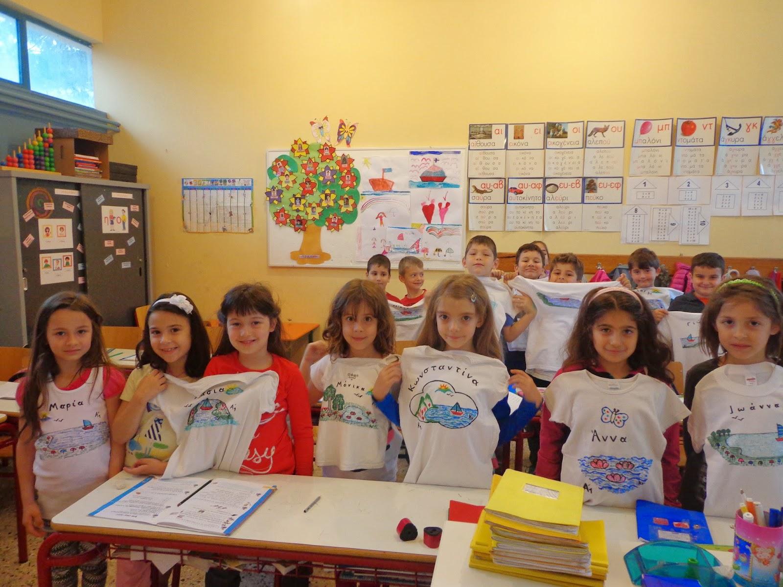 ''Ζωγραφίζοντας τη θάλασσα''- Α*B τάξη 2013-14-15