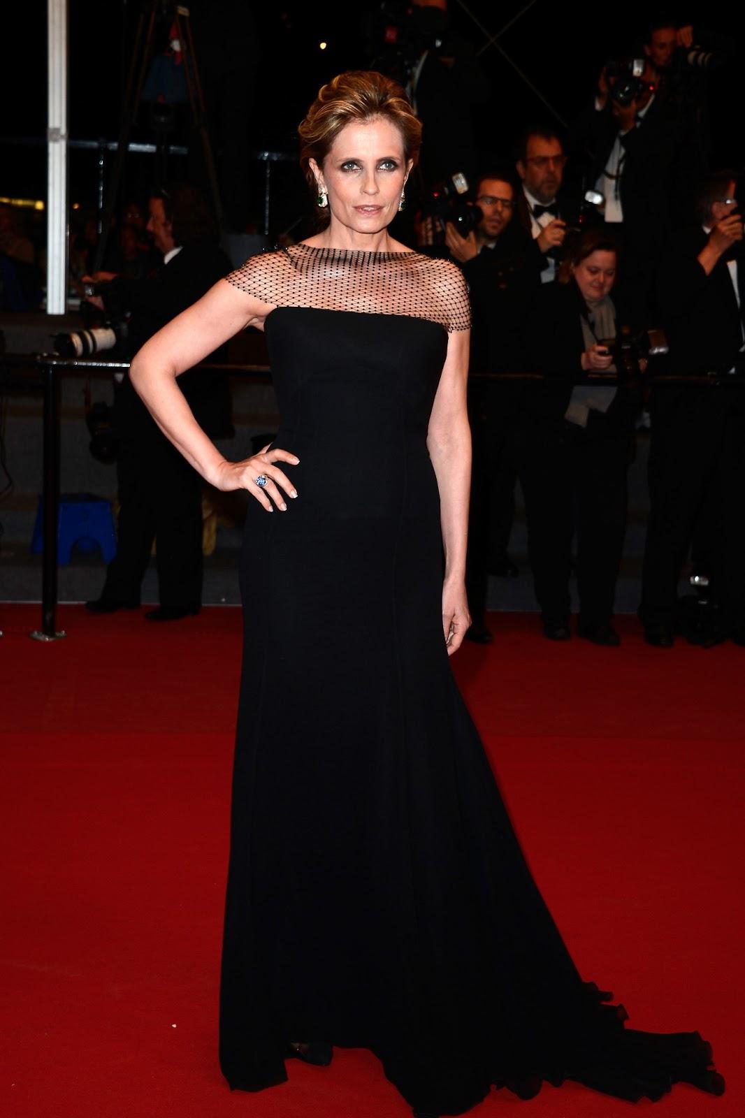 Isabella Ferrari impresionante con joyas de Bulgari en Cannes