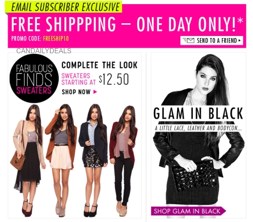 Forever 21 online coupons canada