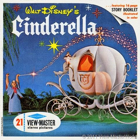 Cinderella ViewMaster filmprincesses.filminspector.com