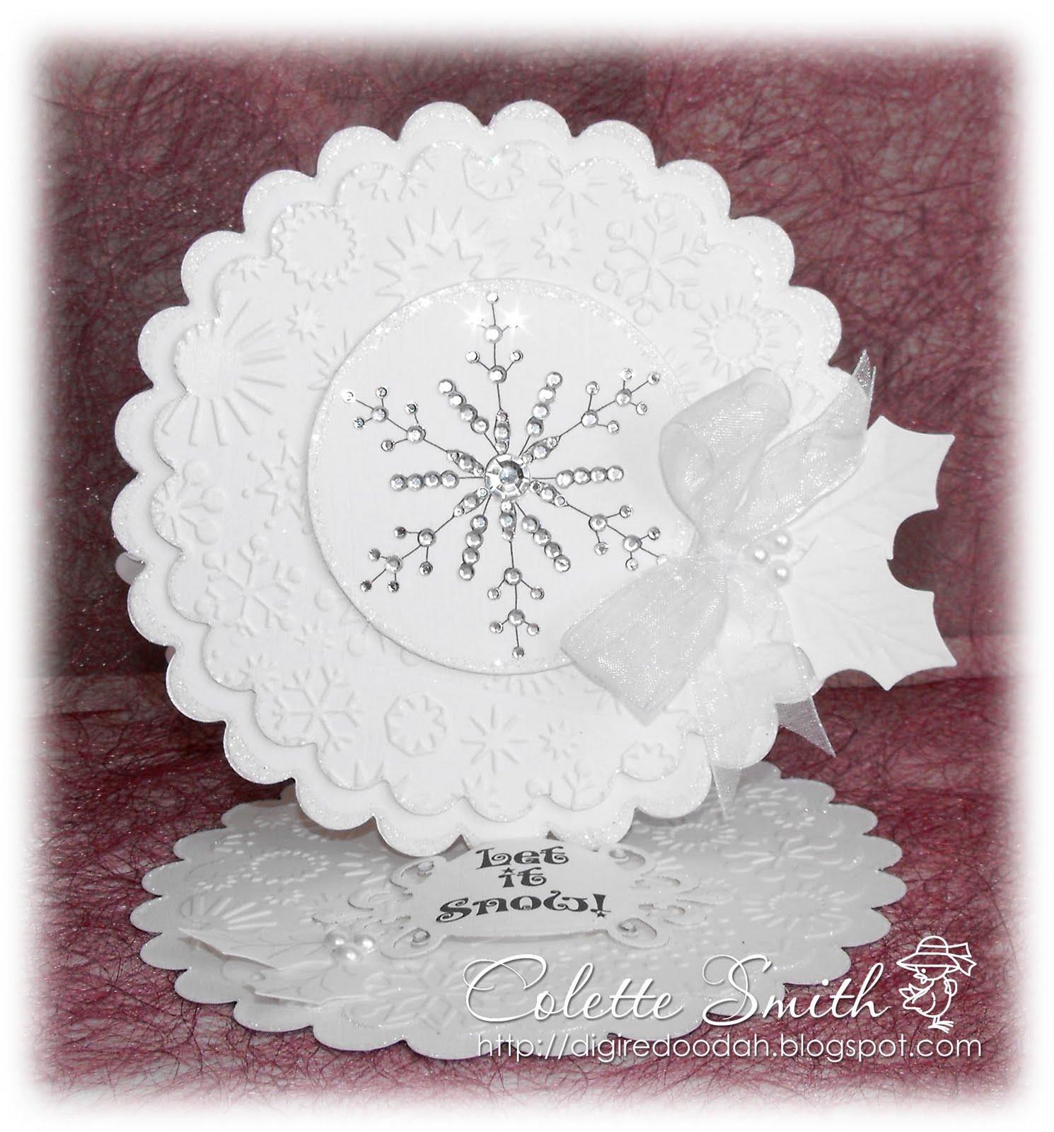 Digi-re-doo-dah: I\'m dreaming of a White Christmas.......Card!