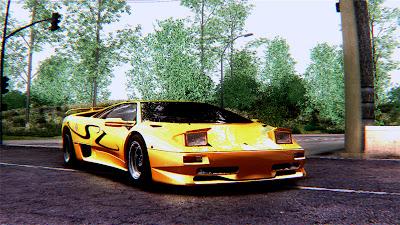 GTA SA - Lamborghini Diablo SV 1997