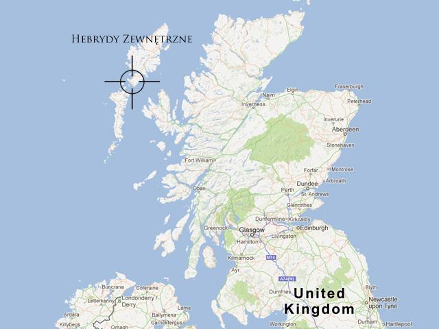 Hebrydy Zewnętrzne, Szkocja