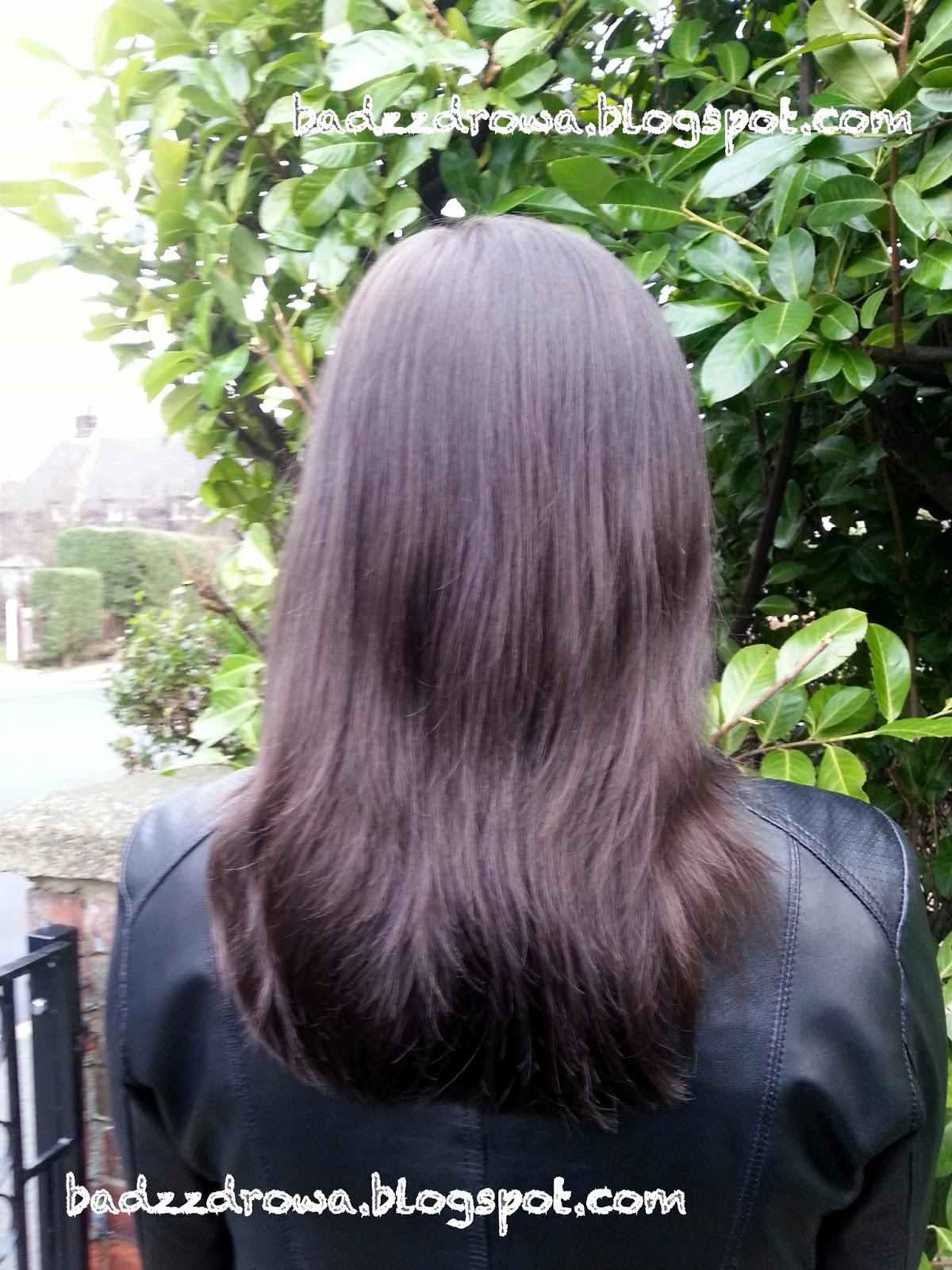 Włosy po oczyszczeniu SLS
