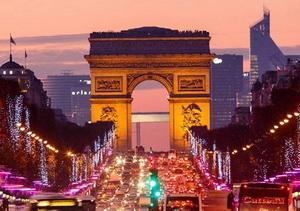 Arch de triomphe champ elysees