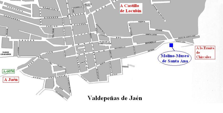 Ja n desde mi atalaya el molino museo de santa ana en - Plano de valdepenas ...