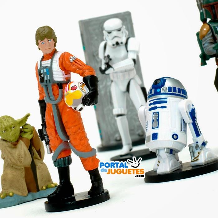 figuras star wars v el imperio contraataca disney store detalle