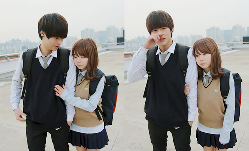 Yu Bo Hwa y Oh ... Ulzzang Lee Dong Hoon