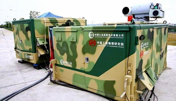 Dikong Weishi, Senjata Laser Buatan China. PROKIMAL ONLINE Kotabumi Lampung Utara