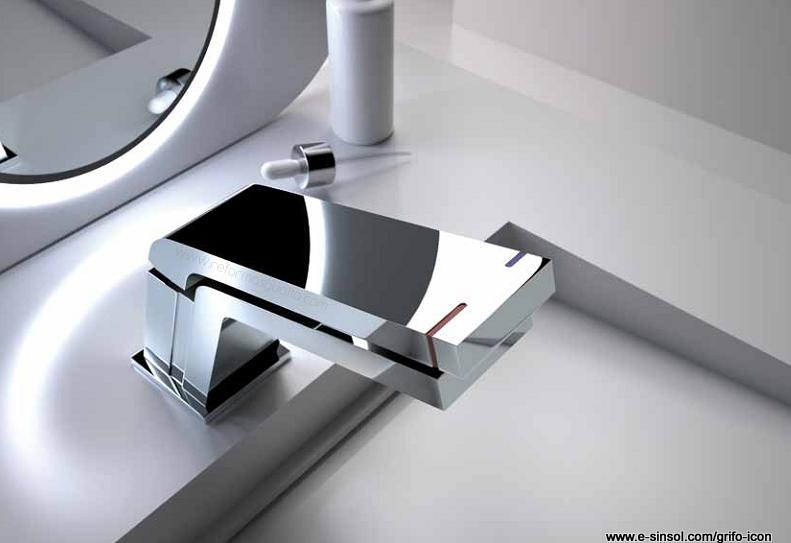 La grifer a est patentada por el equipo de i d i de teka cool lab y dise ada por sara de la - Grifos de lavabo de diseno ...