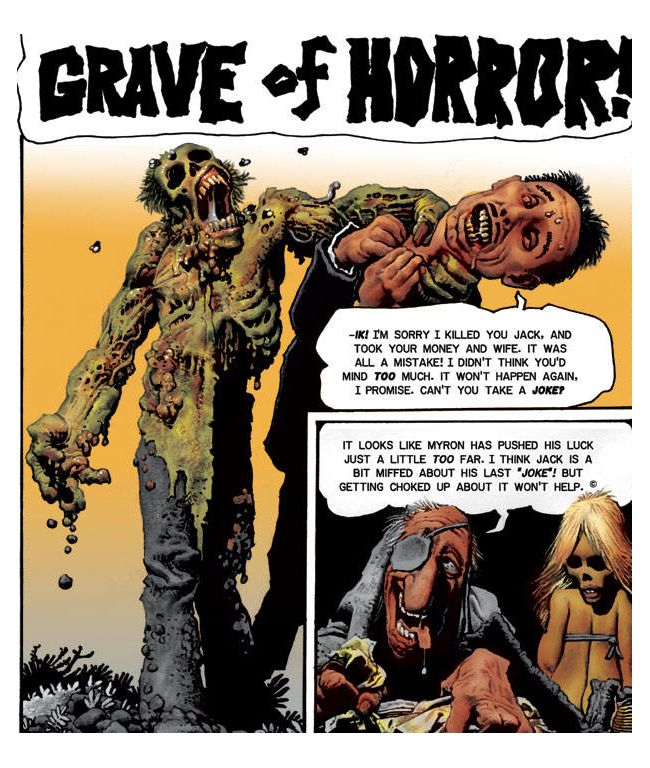 Richard Corben Grave
